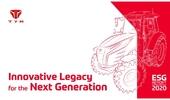 TYM, 농기계 업계 최초 ESG 보고서 발간